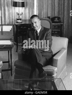 Informal portrait of United States Vice President Spiro T. Agnew. - Stock Photo