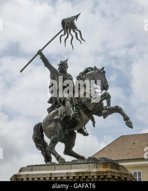 France, Normandy, Falaise, William the Conqueror - Stock Photo