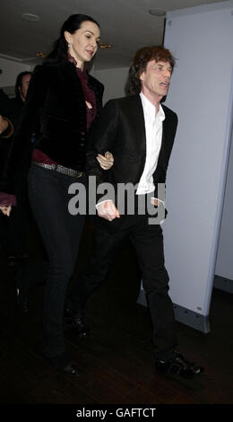 Led Zeppelin Tribute Concert Arrivals - London - Stock Photo