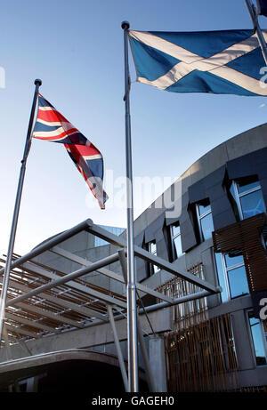 Scottish Parliament - Stock Photo