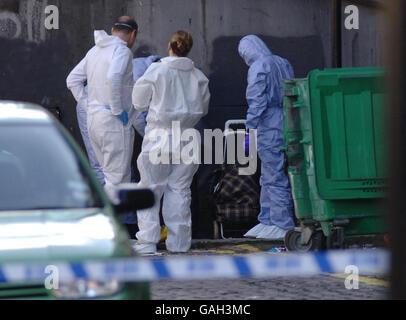 Body found in north London - Stock Photo