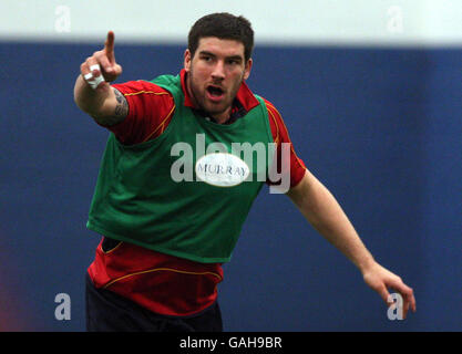 Rugby Union - Scotland Training - Heriot Watt University Riccarton Campus - Edinburgh - Stock Photo