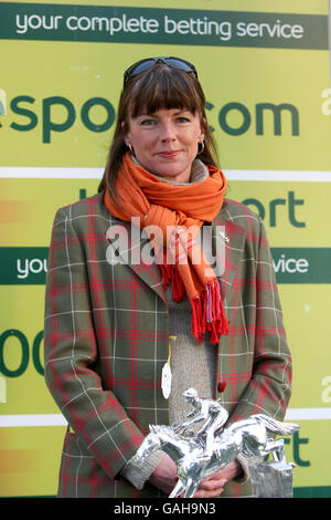 Horse Racing - totesport Masters - Comedy at the Races - Sandown Park Racecourse - Stock Photo