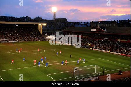 Soccer - FA Cup - Sixth Round - Barnsley v Chelsea - Oakwell - Stock Photo