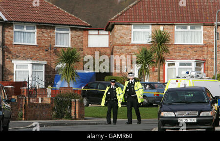 Two bodies found in house - Stock Photo