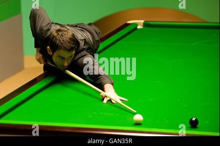 Snooker - 888.com World Snooker Championships - Day Ten - The Crucible Theatre - Stock Photo