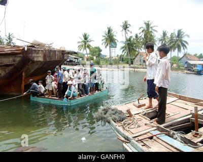 Vietnam society - Stock Photo