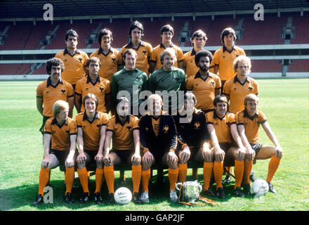 Soccer - Football League Division One - Wolverhampton Wanderers Photocall - Stock Photo