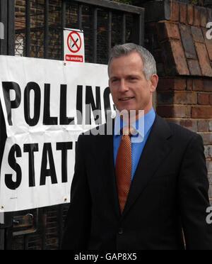 London Mayoral election - Stock Photo