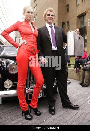 Launch of new James Bond novel - London - Stock Photo
