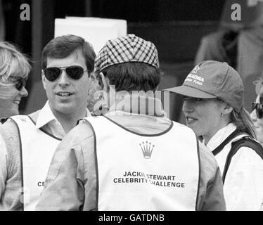 Jackie Stewart Celebrity Challenge Clay Pigeon Shoot - Stock Photo