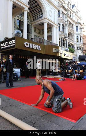 World premiere of Adulthood - London - Stock Photo