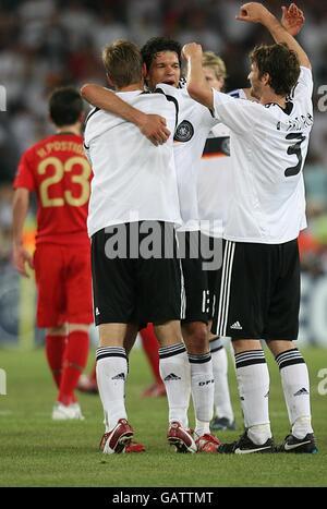 Soccer - UEFA European Championship 2008 - Quarter Final - Portugal v Germany - St Jakob-Park - Stock Photo