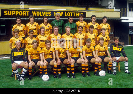 Soccer - Canon League Division One - Wolverhampton Wanderers Photocall - Stock Photo