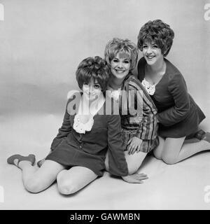 British Pop Music - The 1960's - The Paper Dolls - London - 1968 - Stock Photo