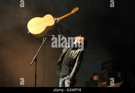 Glastonbury Festival 2008 - Day Three - Stock Photo