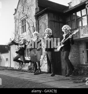 British Pop Music - The 1960's - The Snobs - Marlow - 1964 - Stock Photo