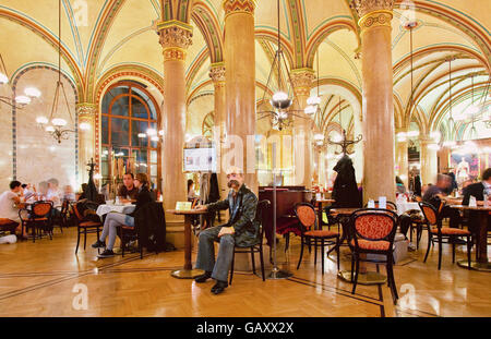 The cafe Central in Vienna - Stock Photo