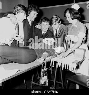 British Pop Music - The 1960's - The Honeycombs - London - 1965 - Stock Photo