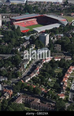London aerial stock - Stock Photo