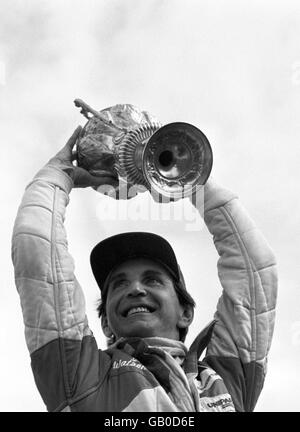 Formula One Motor Racing - British Grand Prix - Silverstone 1981 - Stock Photo
