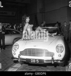 British Cars - Top 25 Car's - Aston Martin - 1964 - Stock Photo