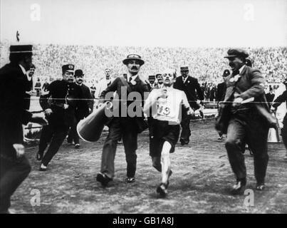 Athletics - London Olympic Games - Marathon - Stock Photo