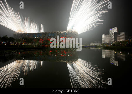 Olympics - Beijing Olympic Games 2008 - Opening Ceremony - Stock Photo