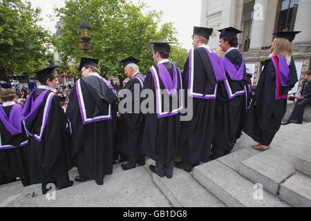 New Graduates celebrate success after the Graduation Ceremony at ...