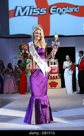 Miss England Grand Final 2008 - London - Stock Photo
