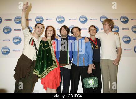 Mercury Awards Nominations Annoucenment - London - Stock Photo