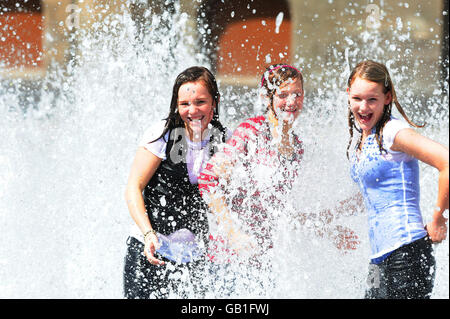 Summer Weather - Middlesbrough - Stock Photo