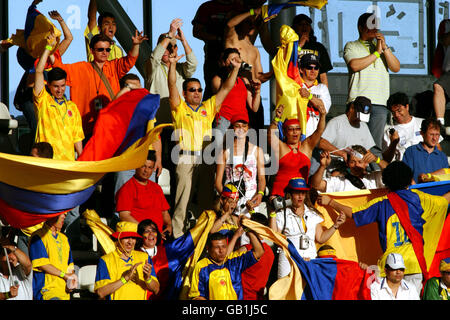 Soccer - FIFA Confederations Cup 2003 - Group A - France v Colombia - Stock Photo