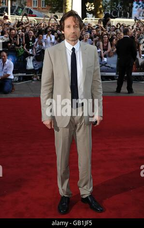 The X Files: I Want to Believe - UK Premiere - London - Stock Photo