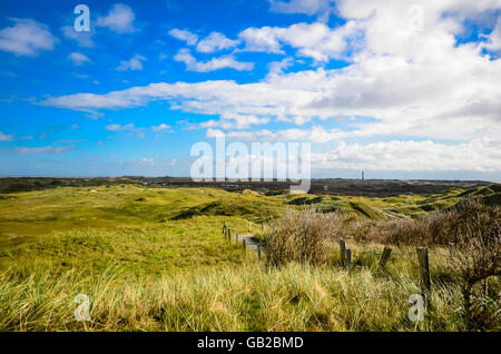 View on Norderney, Germany - Stock Photo