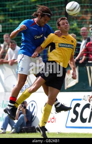 Soccer - Friendly - VFB Auerbach v Glasgow Rangers - Stock Photo