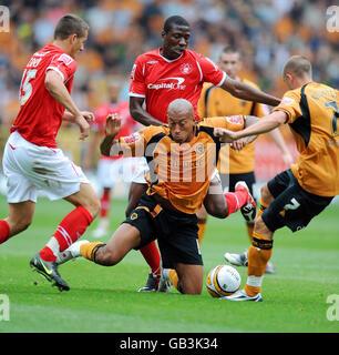 Soccer - Coca-Cola Football Championship - Wolverhampton Wanderers v Nottingham Forest - Molineux - Stock Photo