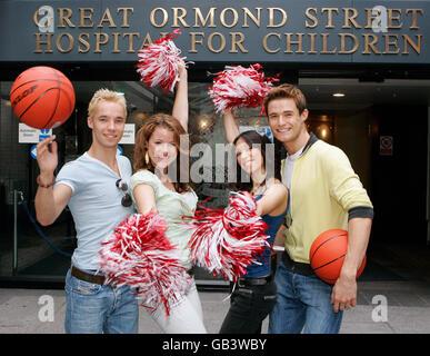 High School Musical members - London - Stock Photo
