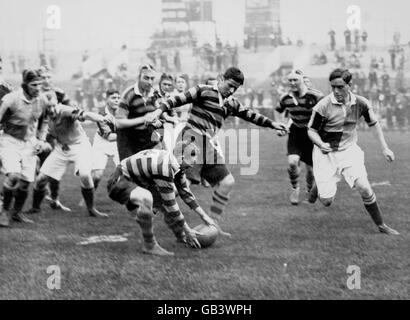 Rugby Union - Harlequins v United Services - 1927 - Stock Photo
