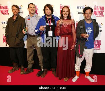 BT Digital Music Awards 2008 - Arrivals - London - Stock Photo