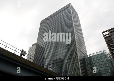 Lehman Brothers collapse - Stock Photo