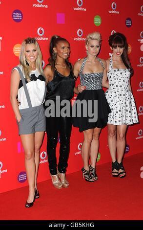 Vodafone Live Music Awards 2008 - London - Stock Photo