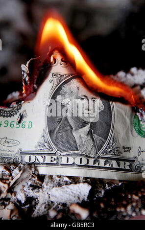 US economic crisis - Stock Photo