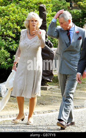 Prince of Wales and Camilla Far East Tour - Stock Photo