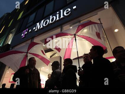 T-Mobile G1 - London - Stock Photo