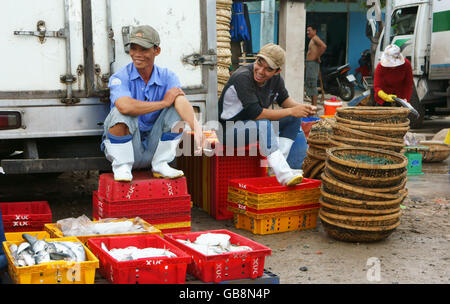 Fresh fish truck van in market square tromso troms norway for Wholesale fish market los angeles