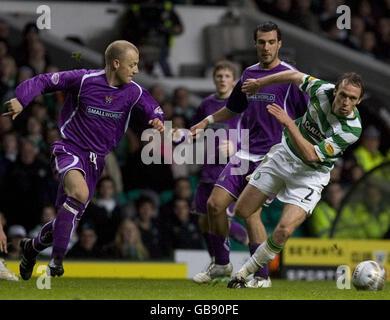 Soccer - Clydesdale Bank Scottish Premier League - Celtic v Kilmarnock - Celtic Park - Stock Photo