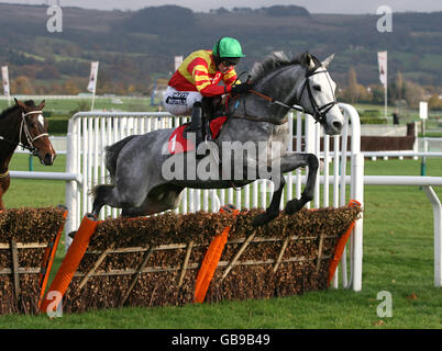 Horse Racing - The Open - Day One - Cheltenham Racecourse - Stock Photo