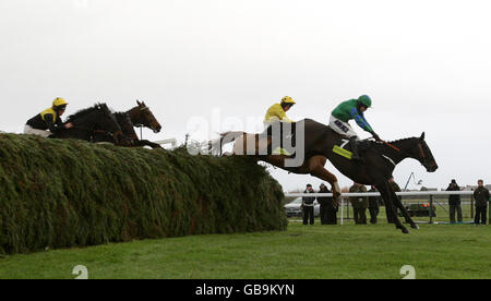 Horse Racing - totesport.com Becher Handicap Chase Day - Aintree Racecourse - Stock Photo