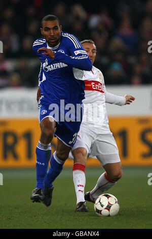 Soccer - German Bundesliga - VfB Stuttgart v FC Schalke 04 - Mercedes-Benz Arena - Stock Photo